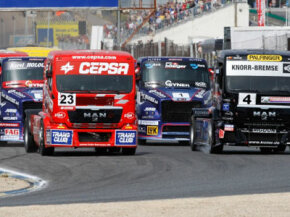 It's possible that super truck racing may return to the United States.