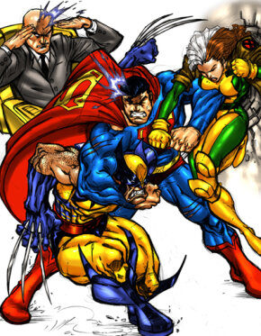 Could one of the X-Men take Superman single-handedly, or would it take the whole team?