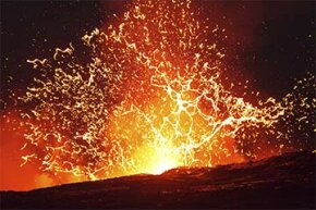 The Kilauea volcano explodes in Hawaii. Could there be a volcano big enough to destroy the earth?