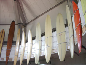 Long and shortboards