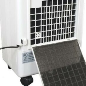 A swamp cooler can lower energy costs.