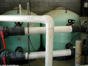 Dual sand filters Specially made filter sand