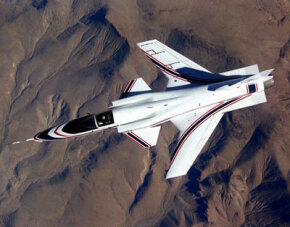 The X-29 featured one of the most unusual aircraft designs in history.