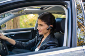 Syncing your phone with your car may allow you to be hands free. See more car safety pictures.