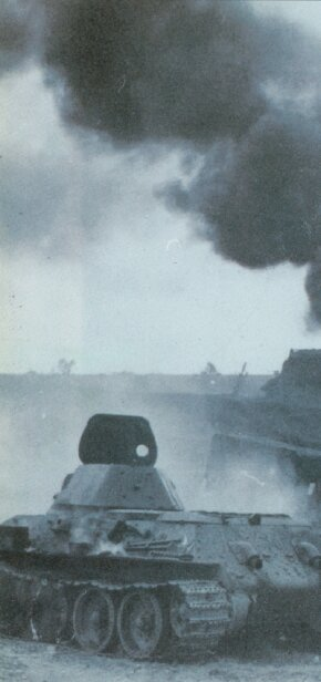 The T-34 Medium Tank, well armored and heavily gunned, was the toughest tank the Germans encountered during their invasion of Russia. See more tank pictures.
