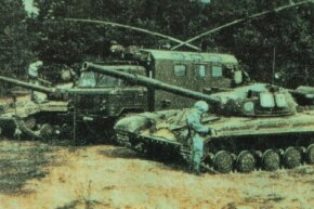 The T-64 Main Battle Tank was not a satisfactory design and was not provided to client forces of the USSR.