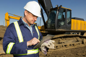 Tablets are in use everywhere -- even on construction sites.