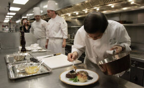 This chef knows that flavor is more than gustatory sensation. See more human senses pictures.