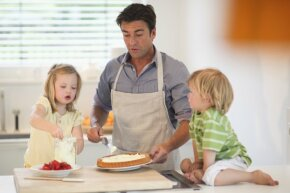 If you're your kids' custodial parent, you can take the child tax credit for them.