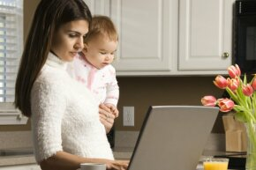If you're the primary wage earner, and you have the kids more than half the time, you may be able to file as head of household.