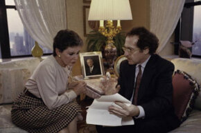 Leona Helmsley and Alan Dershowitz.