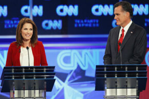 No Tea Party favorites, such as Minnesota Rep. Michele Bachmann, won the 2012 Republican presidential nomination.