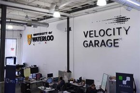 University of Waterloo's start-up incubator, Velocity, is located in Kitchener's historic Tannery District in Ontario.