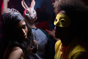 Teens may enjoy dressing-up for a costume party, or they may not. Whether you plan music, dancing or games, be sure to set some ground rules with your teen's guests.