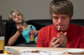 Alcohol and drug use in teens is a factor in teen car crashes, property damage, early sexual intercourse and STDs. See more drug pictures.
