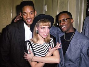 Electric Youth: These people understood what it was like to be a teenager in the 1980s. From left to right, the Fresh Prince Will Smith, Debbie Gibson and DJ Jazzy Jeff. See brain pictures.