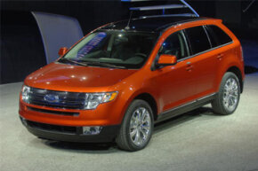 This 2007 Ford Edge is a crossover vehicle -- but it definitely wasn't the first vehicle in that category.