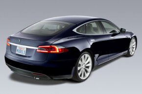 The Tesla Model S is the only all-electric car on the market that was designed from the ground up.