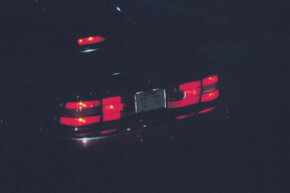 """Check all of your brake lights, including the """"cyclops"""" light."""