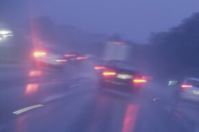 Brake lights are especially important in poor weather conditions.