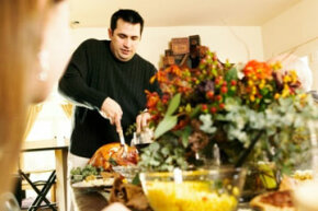 Thanksgiving doesn't have to be a feast for a massive gathering. If you plan the right menu, it's the perfect holiday to spend with a single loved one. See the perfect Thanksgiving turkey pictures.