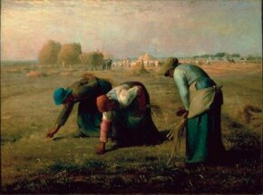The Gleaners by Jean-Francois Millet is an oil  (32-7/8 x 43-3/4 inches), which can be  d'Orsay, Paris. See more pictures of Impressionist paintings.
