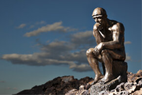 It may be clichéd, but we're willing to bet that a lot of think tanks have Rodin's Thinker sitting somewhere in their offices.