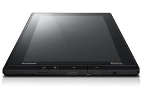 Lenovo's ThinkPad tablet offers various features and services that take business users' unique concerns into consideration.