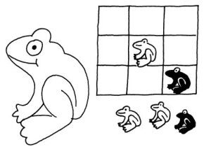 Hop to victory with this tic-tac-toads game.