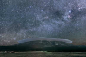 The stars above Flagstaff, Ariz., provide a backward view through time.