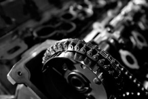 Some cars use timing chains instead of belts. They're rising in popularity due to their durability -- they often last for the life of the car.