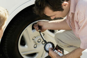 If your light goes off, it's a good idea to check your tire pressure as soon as possible.
