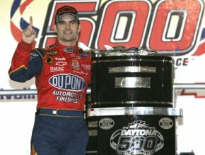 A 25-year-old Jeff Gordon showed the graybeards a thing or two with his win in the 1997 Daytona 500.