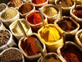 To enjoy this bounty of spices fully, you might need to improve your palate. See more spice pictures.