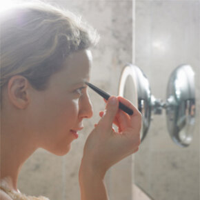 Plenty of light will help you and your tweezers with hair removal.