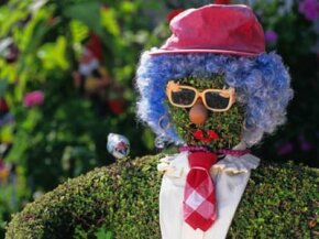 You can shape topiary into anything from formal geometric shapes to this guy. See more pictures of gardens.