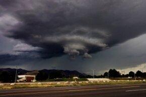 Tornado forming in Colorado Springs