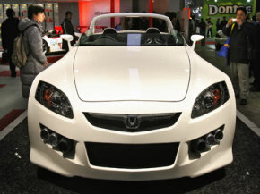 This concept car, like the Honda S2000 that inspired it, has the horsepower to rule the racetrack. Too bad its lack of torque makes it unsuitable for towing.