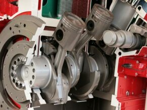 If you'd like to know how and where torque is generated, look no further than this cross-section of a diesel engine.