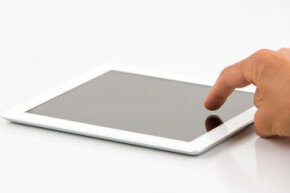 It seems like many people are using a touch-screen interface instead of a mouse.