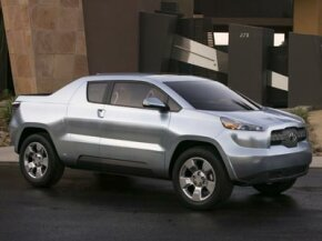 Toyota looks to shake things up in the pickup truck sector with the A-BAT, a gas-electric hybrid pickup truck that remains a close cousin to the Prius.