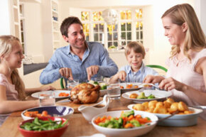Even a simple family dinner can be a meaningful tradition to preserve throughout the years.