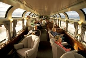 The lounge on Amtrak's Coast Starlight train looks pretty comfortable, so why aren't more people riding on the only nationwide passenger railroad in the United States?
