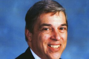 FBI file photo of FBI agent Robert Hanssen, church-going father of six and double agent for the Soviet Union.