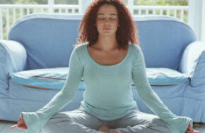 Meditation can help to manage your stress.