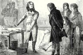 """Dominique-Jean Larrey was surgeon in chief in Napoleon's army and invented the idea of triage. He also created """"flying ambulances"""" to immediately transport the wounded to base hospitals nearby."""