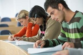 The IRS helps out college students with a number of tuition credits.