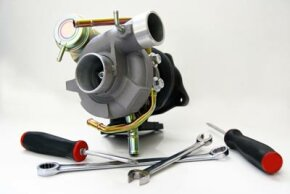 Turbochargers provide boost to engines at high speeds.