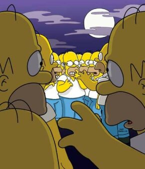 Homer has to always look the same, no matter who draws him.
