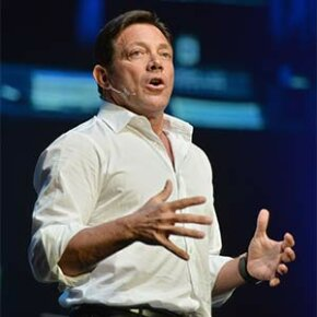 """Jordan Belfort went to prison for stock market fraud but later wrote a memoir that was adapted into the movie """"The Wolf of Wall Street."""" Today he is a motivational speaker."""